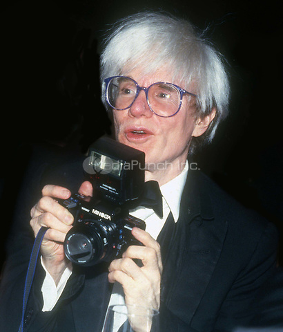 Andy Warhol circa 1980's<br /> Photo By John Barrett/PHOTOlink.net /MediaPunch