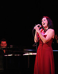 Linda Eder with Billy Jay Stein (at Piano) performing their show 'A New Life' ('Jekyll & Hyde' Reunion)   at The Town Hall on October 13, 2012 in New York City.