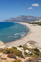 Turkey, Province Antalya, Patara near Kalkan: Patara beach | Tuerkei, Provinz Antalya, Patara bei Kalkan: Patara Beach