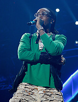 LOS ANGELES, CALIFORNIA - JUNE 22: Quavo of Migos  performs at the 7th Annual BET Experience at L.A. Live Presented by Coca-Cola at Staples Center on June 22, 2019 in Los Angeles, California. Photo: imageSPACE/MediaPunch