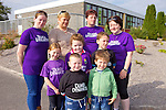 Taking time to walk for charity, parents and pupils are getting ready for their annual Fun Run/Walk on September 28th for Duagh national school. Pictured were: Sam McElligott, Maria O'Carroll, Rosie Collins, Katie Flynn, Hayley McElligott, Cian O'Carroll, Emily Flynn, Cody Collins and Jack Collins.