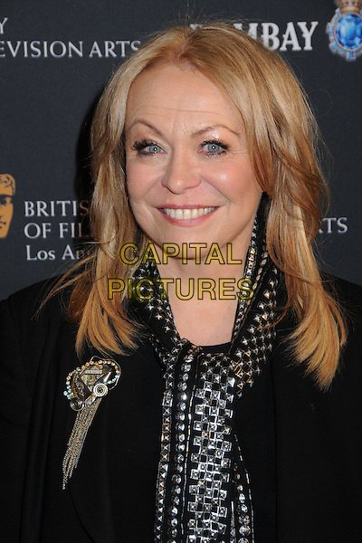 JACKI WEAVER .17th Annual BAFTA Los Angeles Awards Season Tea Party held at the Four Seasons Hotel, Beverly Hills, California, USA, 15th January 2011..portrait headshot black smiling  silver scarf .CAP/ADM/BP.©Byron Purvis/AdMedia/Capital Pictures.