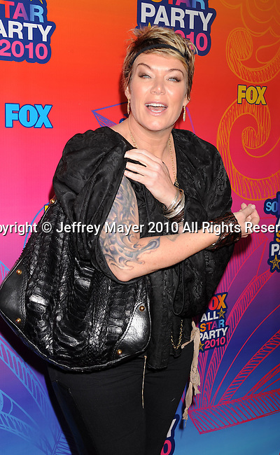 SANTA MONICA, CA. - August 02: Mia Michaels arrives at the FOX 2010 Summer TCA All-Star Party at Pacific Park - Santa Monica Pier on August 2, 2010 in Santa Monica, California.