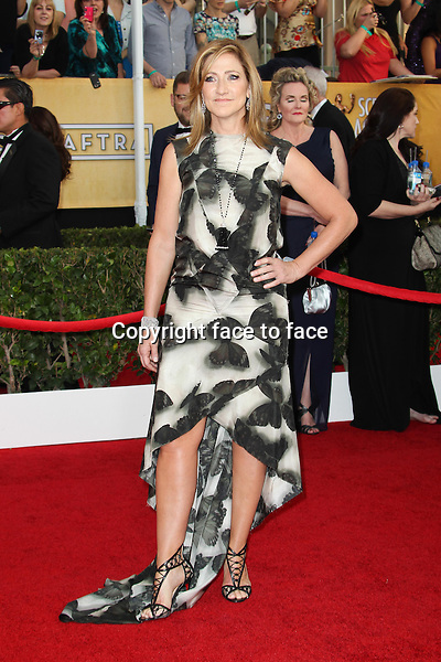 LOS ANGELES, CA - JANUARY 18: Edie Falco attending the 2014 SAG Awards in Los Angeles, California on January 18, 2014.<br /> Credit: RTNUPA/MediaPunch<br />