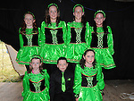 Members of McCarthy school of Irish Dancing from Dillonstown, Emma Dunne, Cillian Tracey, Ciara Bickmore, Orla McNally, Chloe Bickmore, Aideen Dunne, Ciara Kelly who performed at the Viking festival in Annagassan. Photo: www.pressphotos.ie