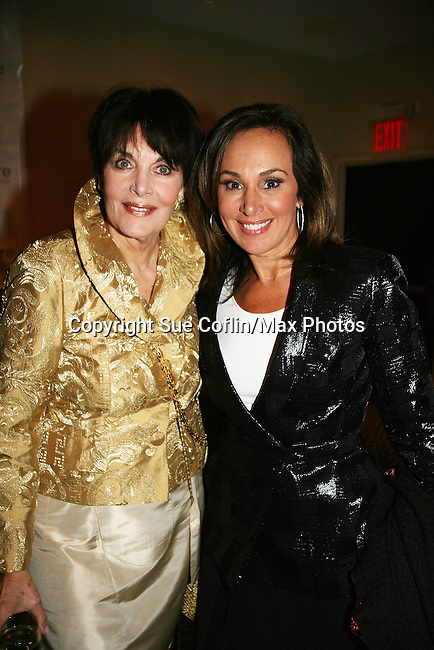 Linda Dano & Rosanna Scotto at the HeartShare 2010 Spring Gala and Auction on March 25, 2010 at the New York Marriott Marquis, New York City, New York. (Photo by Sue Coflin/Max Photos)