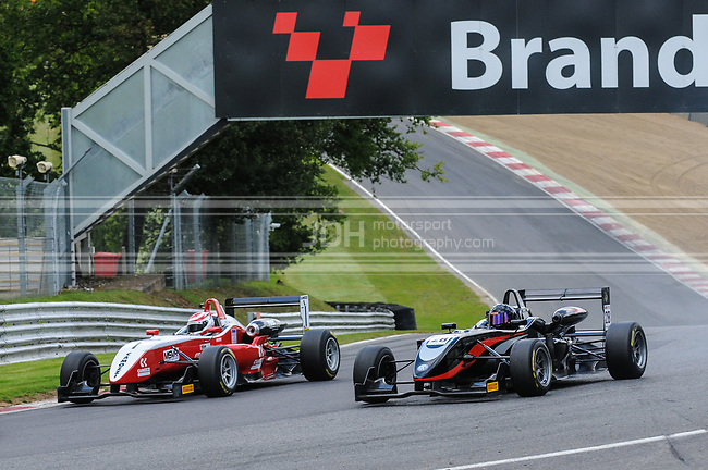 George Line - CF Racing Dallara F308 Honda NBE & Mark Harrison - Magic Motorsport/Team Fox Racing Dallara F308 Volkswagen-Spiess