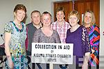 Claire Fleming, Toby O'Connor, Marie O'Connor, Joan Burke, Kathleen and Maureen Fleming enjoying the Biddy dance in the Killcummin GAA club bar on Saturday night....
