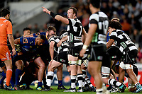 Gareth Evans of Hawkes Bay during the 2018 Mitre 10 Cup Championship rugby semifinal between Canterbury and Counties Manukau at Forsyth Barr Stadium in Dunedin, New Zealand on Saturday, 20 October 2018. Photo: Joe Allison / lintottphoto.co.nz