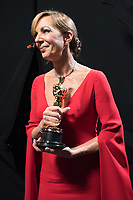 Allison Janney accepts the Oscar&reg; for Performance by an actress in a supporting role, for her role in &ldquo;I, Tonya&rdquo; during the live ABC Telecast of The 90th Oscars&reg; at the Dolby&reg; Theatre in Hollywood, CA on Sunday, March 4, 2018.<br /> *Editorial Use Only*<br /> CAP/PLF/AMPAS<br /> Supplied by Capital Pictures