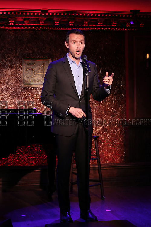 "Andrew Lippa and Ciara Renee perform A Special Press Preview of their upcoming show ""The Wild Party Swings""  at 54 Below on April 4, 2014 in New York City."