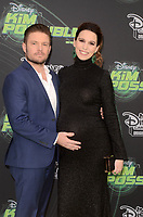 """Brendan Rooney, Christy Carlson Romano<br /> at the """"Kim Possible"""" Premiere, TV Academy, North Hollywood, CA 02-12-19<br /> David Edwards/DailyCeleb.com 818-249-4998"""
