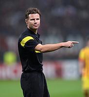 FUSSBALL  CHAMPIONS LEAGUE   SAISON 2013/2014   Vorrunde     AC Mailand - FC Barcelona       22.10.2013 Schiedsrichter Felix Brych (Deutschland)
