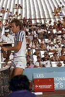 John Mc Enroe aux Internationaux Tennis Players 1981,  , au Parc Jarry<br /> <br />  - PHOTO D'ARCHIVE :  Agence Quebec Presse