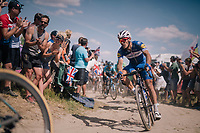 Philippe Gilbert (BEL/Quick Step floors) on pav&eacute; sector #2<br /> <br /> Stage 9: Arras Citadelle &gt; Roubaix (154km)<br /> <br /> 105th Tour de France 2018<br /> &copy;kramon