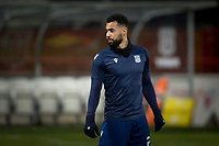 10th March 2020; Dens Park, Dundee, Scotland; Scottish Championship Football, Dundee FC versus Ayr United; Kane Hemmings of Dundee during the warm up before the match