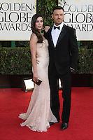BEVERLY HILLS, CA - JANUARY 13: Megan Fox and Brian Austin Green at the 70th Annual Golden Globe Awards at the Beverly Hills Hilton Hotel in Beverly Hills, California. January 13, 2013. Credit: mpi29/MediaPunch Inc. /NortePhoto