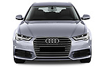 Car photography straight front view of a 2018 Audi A6 Avant Business Edition 5 Door Wagon
