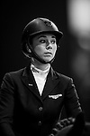Jane Richard Philips of Switzerland rides Zekina Z at the the Massimo Dutti Trophy during the Longines Hong Kong Masters 2015 at the AsiaWorld Expo on 15 February 2015 in Hong Kong, China. Photo by Juan Flor / Power Sport Images