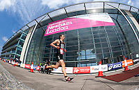 31 JUL 2011 - LONDON, GBR - Ritchie Nicholls on his way to victory during the Elite Men's race at the Virgin Active London Triathlon (PHOTO (C) NIGEL FARROW)