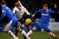 Jack Marriott of Peterborough United takes a shot at the Gillingham goal during Gillingham vs Peterborough United, Sky Bet EFL League 1 Football at the MEMS Priestfield Stadium on 10th February 2018