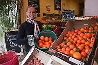 Europe/France/Aquitaine/33/Gironde/Bordeaux/Le Bouscat: Céline le Corre , épicière: Brin d'Epices, barrière du Médoc, 15 bd Pierre 1er [Non destiné à un usage publicitaire - Not intended for an advertising use]