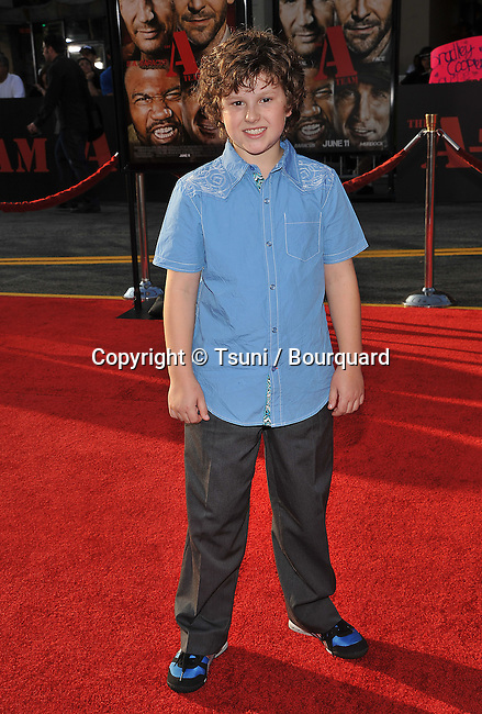 Nolan Gould _58   -<br /> The a-Team Premiere at the Chinese Theatre In Los Angeles.