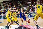 Mickey MCCONNELL (#32 EWE Baskets Oldenburg) \Justin SEARS (#5 MHP Riesen Ludwigsburg) \Kerron JOHNSON (#3 MHP Riesen Ludwigsburg) \Thomas WALKUP (#0 MHP Riesen Ludwigsburg) \ beim Spiel MHP RIESEN Ludwigsburg - EWE Baskets Oldenburg.<br /> <br /> Foto &copy; PIX-Sportfotos *** Foto ist honorarpflichtig! *** Auf Anfrage in hoeherer Qualitaet/Aufloesung. Belegexemplar erbeten. Veroeffentlichung ausschliesslich fuer journalistisch-publizistische Zwecke. For editorial use only.