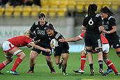 9th June 2017, Westpac Stadium, Wellington, New Zealand; International Womens Rugby; New Zealand versus Canada;  New Zealands Renee Wickliffe in action during the International Women's Series