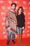 Guests attend the Peru Moda New York 2014 fashion show, at the Peru Expo in New York City on November 19, 2014.