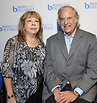 Victoria Lang and Stewart F. Lane attend BroadwayHD debuted their slate of digital captures with Broadway & Beyond Theatricals at The APAP Conference  on January 912, 2020 at The Hilton Hotel Midtown in New York City.