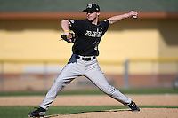 March 13, 2010:  Pitcher Matt Fouch of Army vs. Long Island University Blackbirds in a game at Henley Field in Lakeland, FL.  Photo By Mike Janes/Four Seam Images