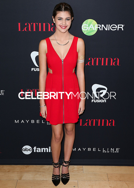 WEST HOLLYWOOD, CA, USA - NOVEMBER 13: Amber Montana arrives at the Latina Magazine's '30 Under 30' Party held at SkyBar at the Mondrian Los Angeles on November 13, 2014 in West Hollywood, California, United States. (Photo by Xavier Collin/Celebrity Monitor)