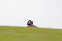 Tiger Woods (USA) lines up a putt on the first hole during the second round of the 118th U.S. Open Championship at Shinnecock Hills Golf Club in Southampton, NY, USA. 15th June 2018.<br /> Picture: Golffile | Brian Spurlock<br /> <br /> <br /> All photo usage must carry mandatory copyright credit (&copy; Golffile | Brian Spurlock)
