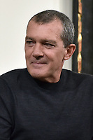 "NEW YORK CITY - APRIL 20: Antonio Banderas attends the Sotheby's lunch and private preview of works by Picasso in conjunction with the National Geographic show ""Genius: Picasso"" at Sotheby's on April 20, 2018 in New York City. (Photo by Anthony Behar/National Geographic/PictureGroup)"