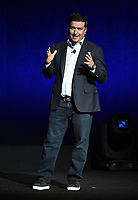 LAS VEGAS, NV - APRIL 23: President of Sony Pictures Worldwide Marketing and Distribution Josh Greenstein onstage at the Sony Pictures Entertainment presentation at CinemaCon 2018 at The Colosseum at Caesars Palace on April 23, 2018 in Las Vegas, Nevada. (Photo by Frank Micelotta/PictureGroup)