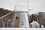 Higgins Farm Windmill in Brewster, Cape Cod, MA, USA