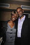 One Life To Live Timothy Stickney & his sister Phyllis Yvonne Stickney -  Marcia Tovsky throws her annual party on May 9, 2013 with actors from One Life To Live and As The World for a get together at Noir in New York City, New York. (Photo by Sue Coflin/Max Photos)