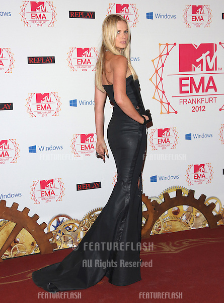 Anne V arriving for the The MTV EMA's 2012 held at Festhalle, Frankfurt, Germany. 11/11/2012 Picture by: Henry Harris / Featureflash