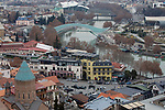 Saint George's Church & Bridge Of Peace, Tbilisi