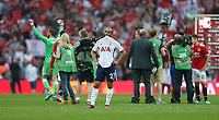Disappointment for Tottenham Hotspur's Lucas Moura<br /> <br /> Photographer Rob Newell/CameraSport<br /> <br /> Emirates FA Cup - Emirates FA Cup Semi Final - Manchester United v Tottenham Hotspur - Saturday 21st April 2018 - Wembley Stadium - London<br />  <br /> World Copyright &copy; 2018 CameraSport. All rights reserved. 43 Linden Ave. Countesthorpe. Leicester. England. LE8 5PG - Tel: +44 (0) 116 277 4147 - admin@camerasport.com - www.camerasport.com