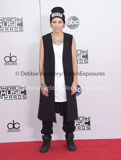 Skylar Grey at The 2014 American Music Award held at The Nokia Theatre L.A. Live in Los Angeles, California on November 23,2014                                                                               © 2014Hollywood Press Agency