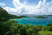 Hawksnest Bay.Virgin Islands National Park.St. John, U.S. Virgin Islands