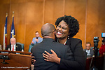 Council Member Martha Castex-Tatum swear-in