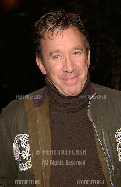 Actor TIM ALLEN at the Los Angeles premiere of Harry Potter and the Sorcerer's Stone..14NOV2001.  © Paul Smith/Featureflash