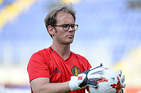 20170719 - BREDA , NETHERLANDS :  Belgian goalkeeper coach Sven Cnudde pictured during Matchday -1 training session of the Belgian national women's soccer team Red Flames on the pitch of NAC BREDA , on wednesday 19 July 2017 in stadion Rat Verlegh in Breda . The Red Flames are at the Women's European Championship 2017 in the Netherlands. PHOTO SPORTPIX.BE | DAVID CATRY