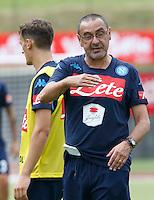 \aa\ <br /> ritiro precampionato Napoli Calcio a  Dimaro 13<br /> Luglio 2015<br /> <br /> Preseason summer training of Italy soccer team  SSC Napoli  in Dimaro Italy July 13, 2015