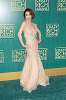 HOLLYWOOD, CA - AUGUST 7: Amy Cheng at the premiere of Crazy Rich Asians at the TCL Chinese Theater in Hollywood, California on August 7, 2018. <br /> CAP/MPI/DE<br /> &copy;DE//MPI/Capital Pictures