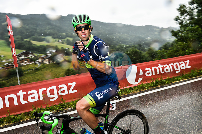 Michael Matthews (AUS) Orica-Bike Exchange during Stage 19 of the 2016 Tour de France running 146km from Albertville to Saint-Gervais Mont Blanc, France. 22nd July 2016.<br />