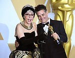 04.03.2018; Hollywood, USA: RITA MORENO WITH SEBASTIAN LELIO<br /> the winner of the Best Foreign Language Film for the 90th Annual Academy Awards held at the Dolby&reg; Theatre in Hollywood.<br /> Mandatory Photo Credit: &copy;Francis Dias/Newspix International<br /> <br /> IMMEDIATE CONFIRMATION OF USAGE REQUIRED:<br /> Newspix International, 31 Chinnery Hill, Bishop's Stortford, ENGLAND CM23 3PS<br /> Tel:+441279 324672  ; Fax: +441279656877<br /> Mobile:  07775681153<br /> e-mail: info@newspixinternational.co.uk<br /> Usage Implies Acceptance of Our Terms &amp; Conditions<br /> Please refer to usage terms. All Fees Payable To Newspix International
